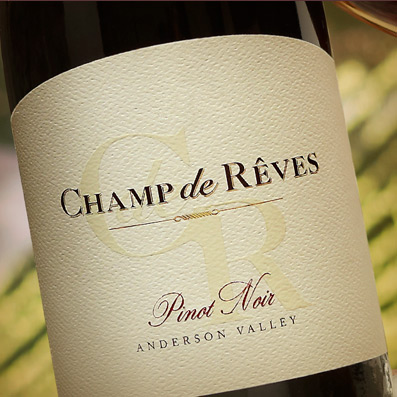 Champ de Rêves Pinot Noir, Anderson Valley